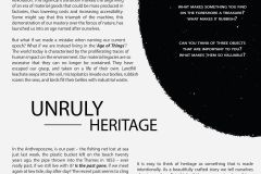 Unruly Heritage poster